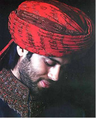Indian Wedding Turbans, Groom Wedding Turban, Richmond Virginia USA